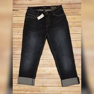 NWT White House Black Market straight crop